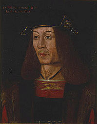 1513  was king of scots